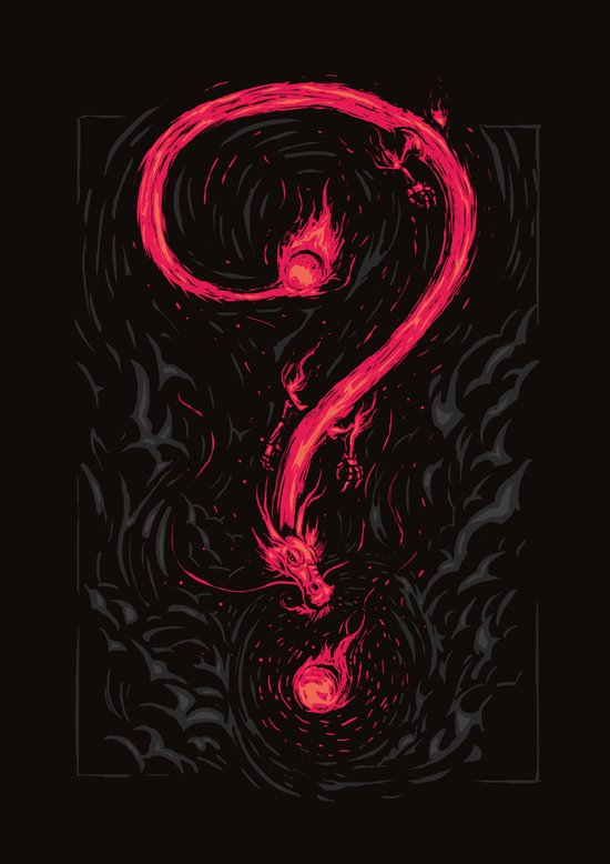 Riddles of the Dragons Art Print