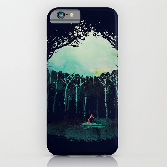 Deep in the forest iPhone & iPod Case