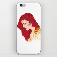 Glam Red Rock iPhone & iPod Skin