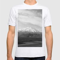 Mt McKinley Mens Fitted Tee Ash Grey SMALL