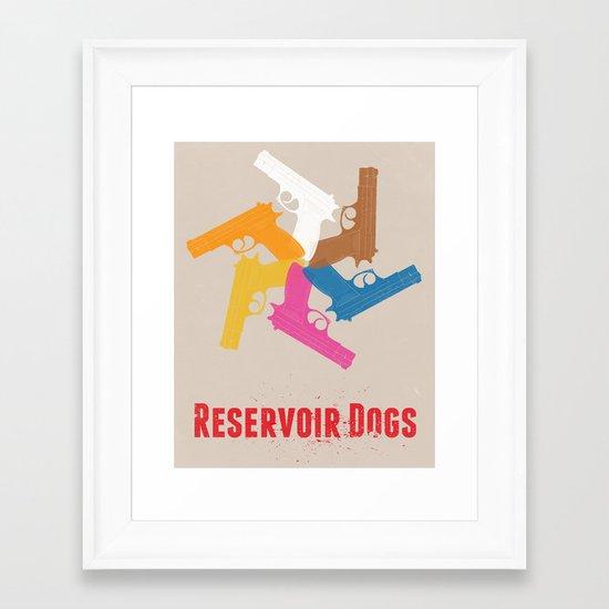 Resevoir Dogs Framed Art Print
