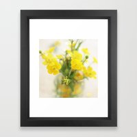 Look At The Bright Side Framed Art Print