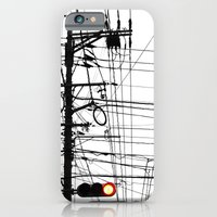 iPhone & iPod Case featuring Red Light by Roman Random