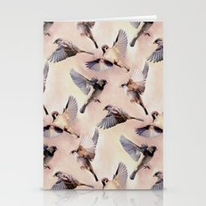 Sparrow Flight Stationery Cards