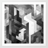 scope 2 (monochrome series) Art Print