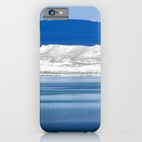 iPhone & iPod Case featuring Cool Blue by goguen