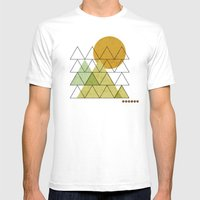 In Harmony Mens Fitted Tee White SMALL