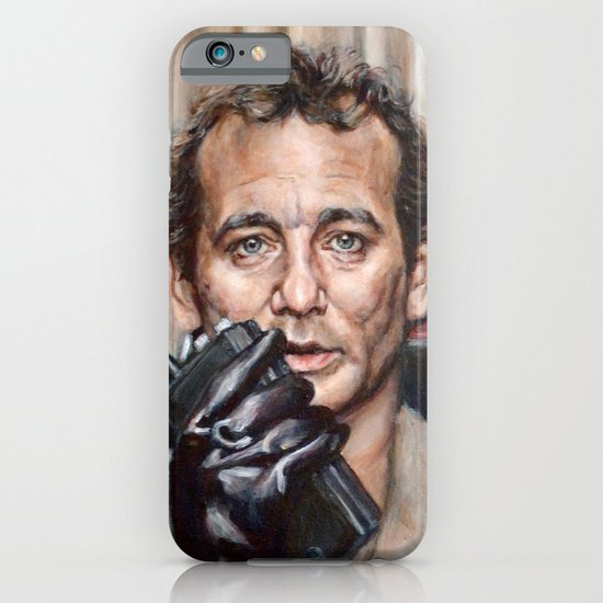 Bill Murray / Ghostbusters / Peter Venkman / Close-Up iPhone & iPod Case