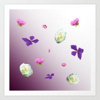 Blooming sky Art Print