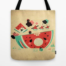 Watermelon Playground Tote Bag