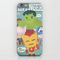 Avengers Fan Art iPhone 6 Slim Case