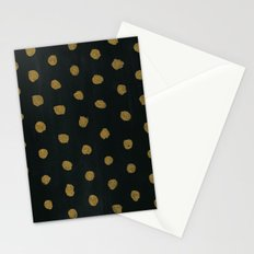 GOLD DOTS Stationery Cards