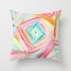 Trapezium Throw Pillow
