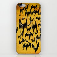 Bats in the Belfry iPhone & iPod Skin