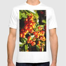 Summer Berries Mens Fitted Tee White SMALL