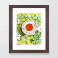 Fancy A Cuppa? Framed Art Print