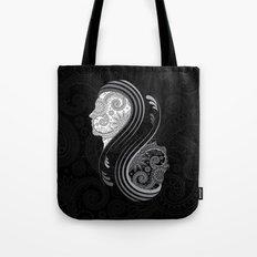 B&W Infinity Tote Bag
