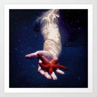 Starfish Enterprise Art Print