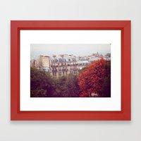 Montmartre, Paris Framed Art Print