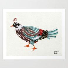 Pheasant Noble 2 Art Print