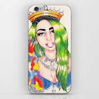 PRINCESS HIGH iPhone & iPod Skin