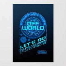 Off World Canvas Print