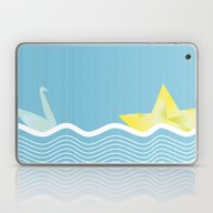Origami Summer Laptop & iPad Skin