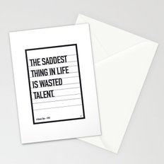 My Bronx Tale Movie Quote poster Stationery Cards