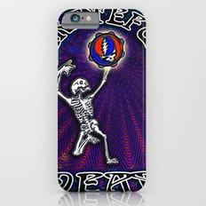 Grateful Dead Dancing Skeleton Beautiful Elegant Optical Illusion Design Slim Case iPhone 6s