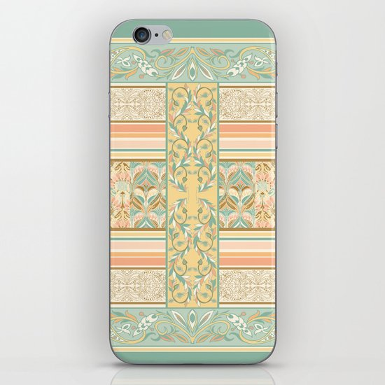 Vintage Stripe iPhone & iPod Skin