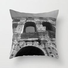 Roman Architecture at its Best Throw Pillow