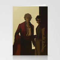 Orestes Fasting and Pylades Drunk Stationery Cards
