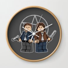The Brickchesters Wall Clock