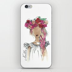 Flower Crowned iPhone & iPod Skin