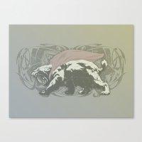 Fearless Creature: Saba Canvas Print