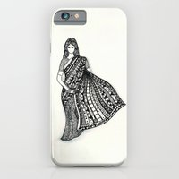 iPhone & iPod Case featuring sari by Mariana Beldi