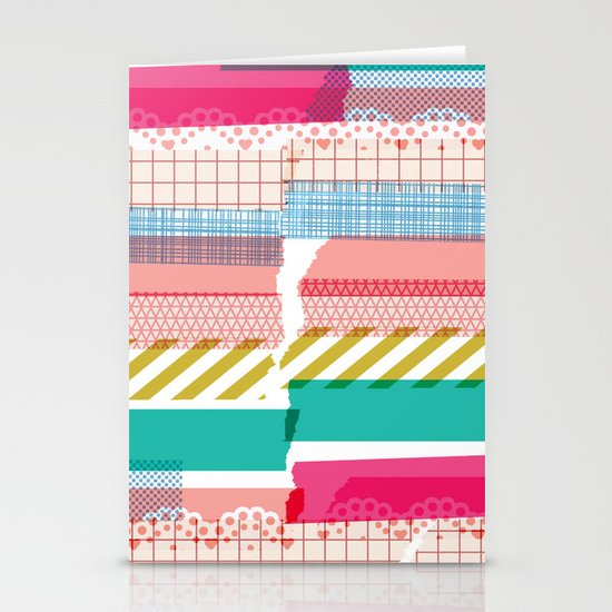 Washi Stationery Card