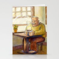 'Til The Coffee Is In My Hand Stationery Cards