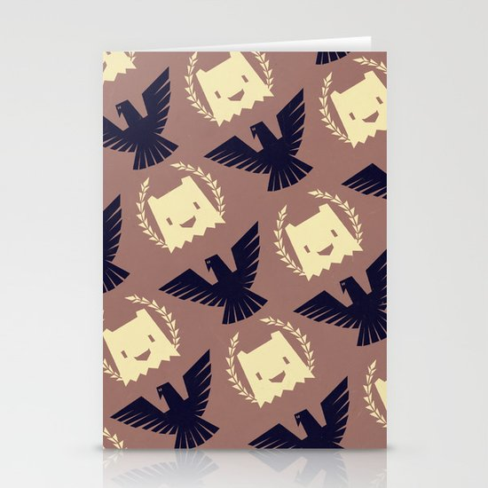 Imperial yeti Stationery Card