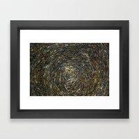 Haystack Framed Art Print