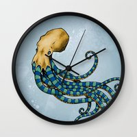 Octopuss Wall Clock
