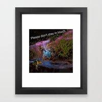 Insanity Cargan Framed Art Print