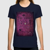 The Valiant Womens Fitted Tee Navy SMALL