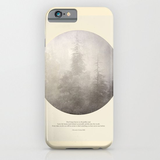 love the woods iPhone & iPod Case