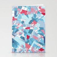 Shattered Floral Stationery Cards