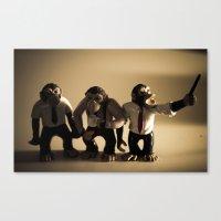 More Monkeys Canvas Print