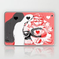 Love buddha Laptop & iPad Skin