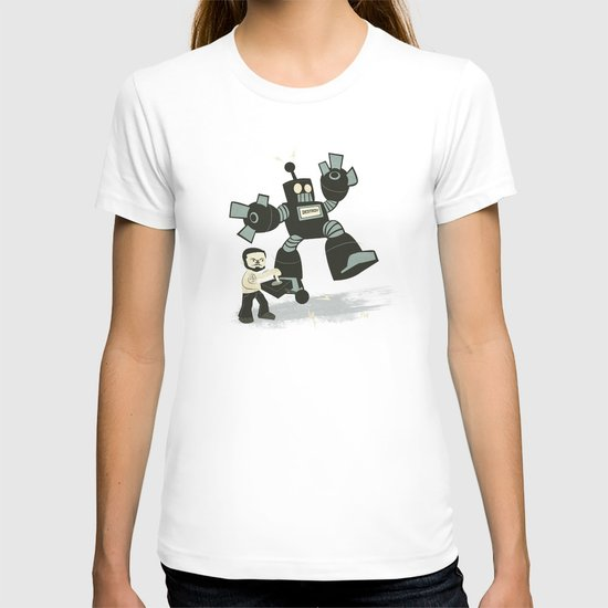 One Button Destruction T-shirt