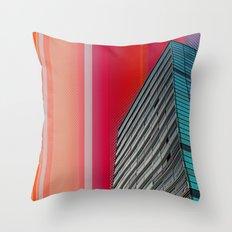 Gran Via Bcn Throw Pillow