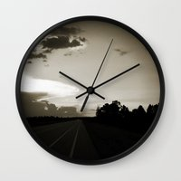 Almost Home Wall Clock